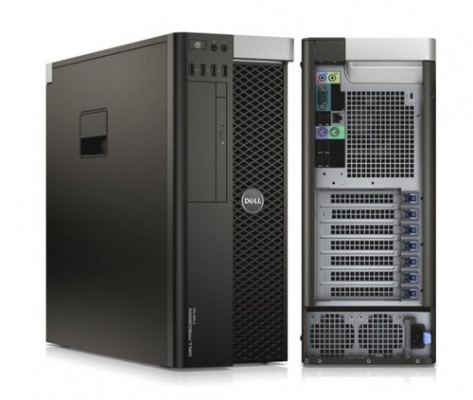 Torre Workstation DELL precision Xeon 8c0re 64GB RAM SSD+HDD Windows 10 Pro