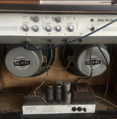 Amplificador válvulas de años 60 Regent 30
