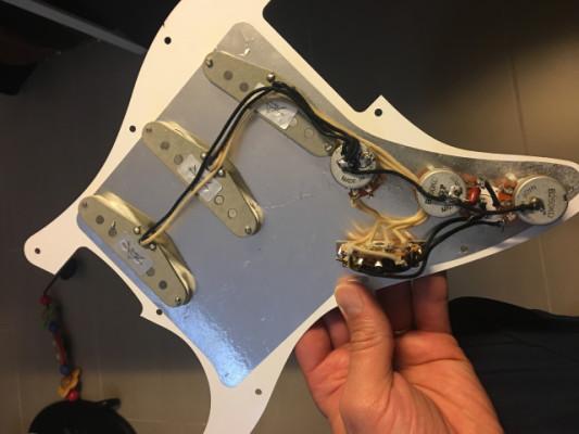 Golpeador completo Fender Custom Shop 69
