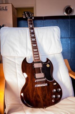 Gibson SG Standard 2015 Translucent Black      # RESERVADA #