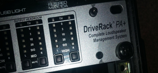DBX Driverack +