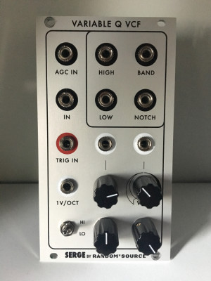 Random*Source variable Q Filter - eurorack
