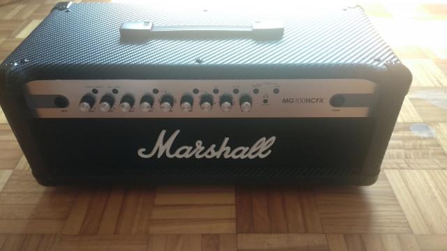 Amplificador Marshall MG100HCFX