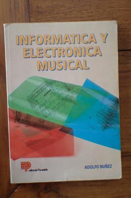 'Informática y electrónica musical' de Adolfo Nuñez