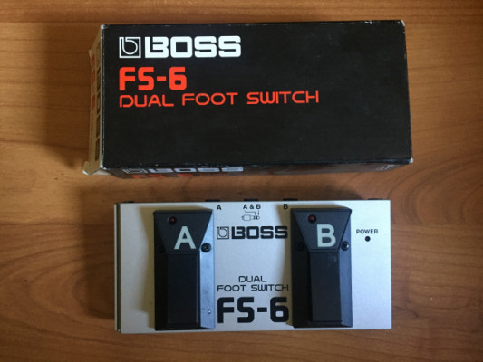 BOSS FS-6, Pedal Dual Foot Switch
