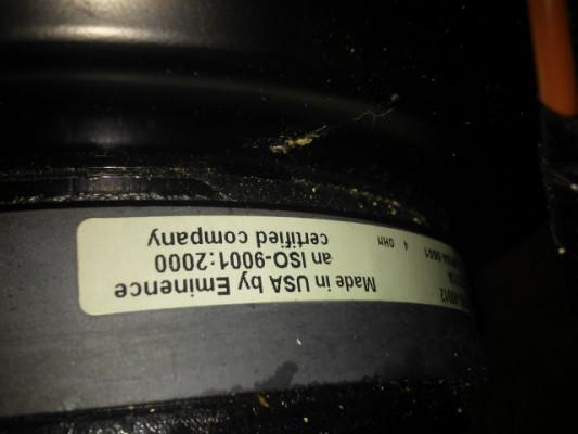 -vendo cono  de 12'  made in USA 100 w  4 homs