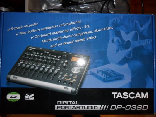 TASCAM Digital portastudio DP-03SD