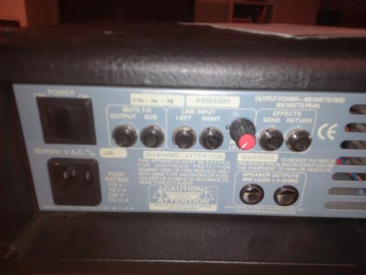 Ashdown Evo II 400 (Made in Uk)