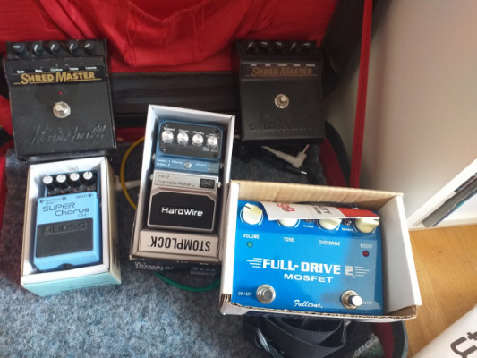 Pedal Shered the Marshall
