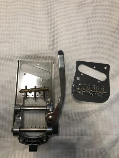 Bigsby B5 + Vibramate Telecaster