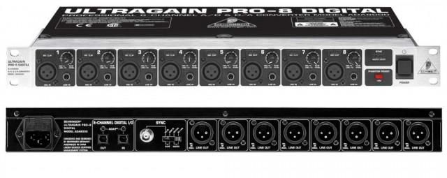 Previo 8 canales Behringer ada Pro 8