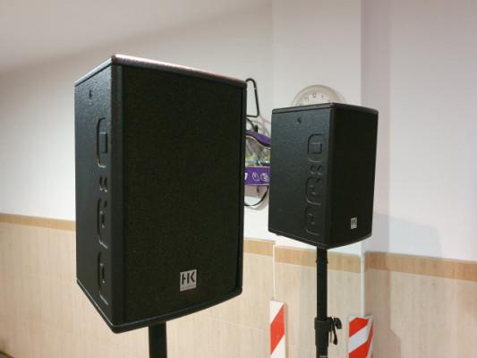 Cajas autoamplificadas HK Audio PRO 8A