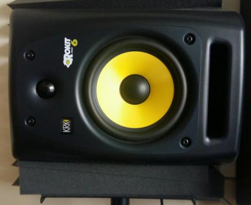 KRK Rokit 6 G2 + Auralex Acoustics Mopad ( 4 dobles )