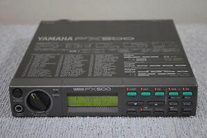 Yamaha FX500 y su pedalera MFC06
