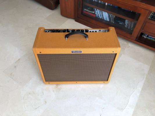 Fender Blues Deluxe Tweed laquered