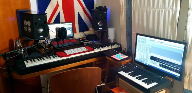 Vendo Home Studio de música (Hardware y Sofware)