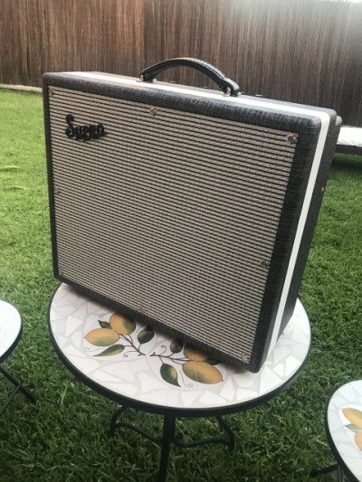 ¡¡¡SUPRO BLACK MAGIC POR SUPRO THUNDERBOLT/ FENDER DELUXE REVERB 1200 euros