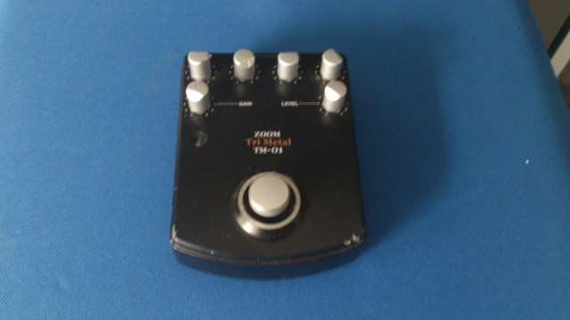 pedal Zoom triMetal TM01