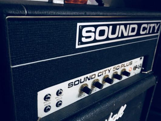 Sound city 50 plus (vintage), restaurado.También cambio.