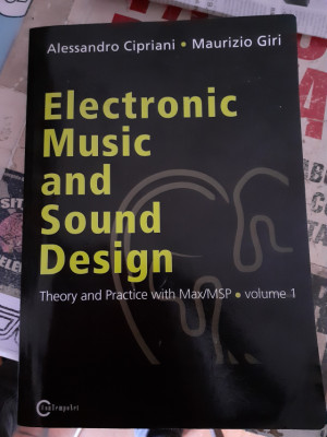 Electronic music and sound design. (Inglés)