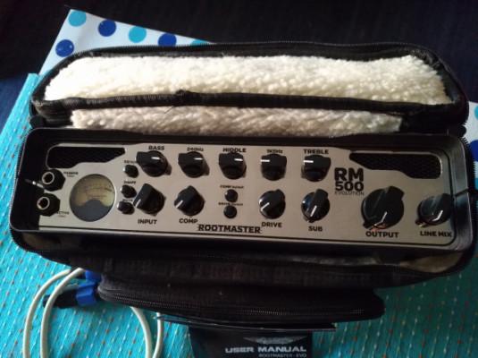 ASHDOWN Rootmaster 500 Evolution amplificador cabezal bajo
