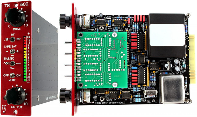 Sound Skulptor TS500 Tape Simulator y de regalo un lunchbox