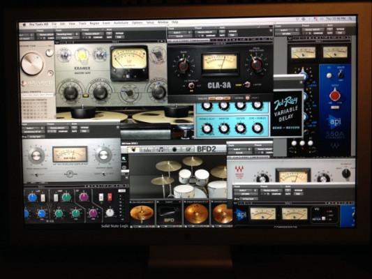 Sistema Avid Pro tools HD 3 Accel Completo y Funcionando