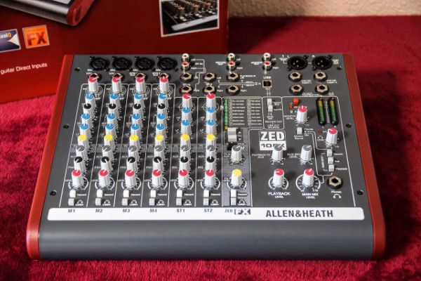 Allen & Heath ZED-10FX USB Audio Interface