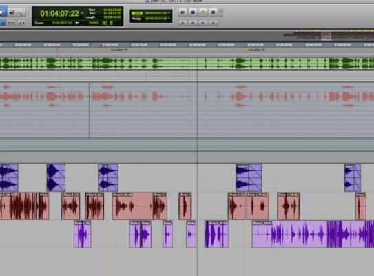 Grabación, edición y mezcla en PRO TOOLS