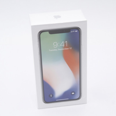 IPHONE X de 256GB Silver Nuevo Precintado E320534