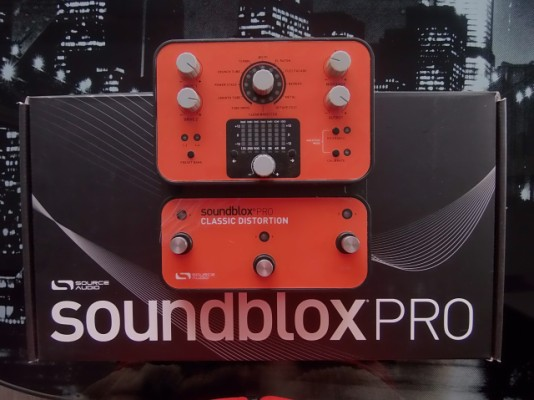 Source Audio Soundblox PRO. Classic Distortion.