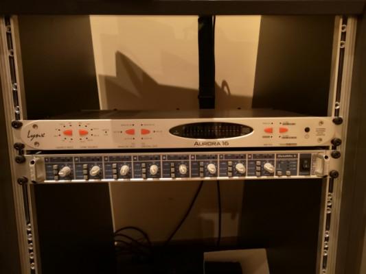 Convertidor ad-da Lynx Aurora 16 + LT  USB CARD + cables db 25 a XLR