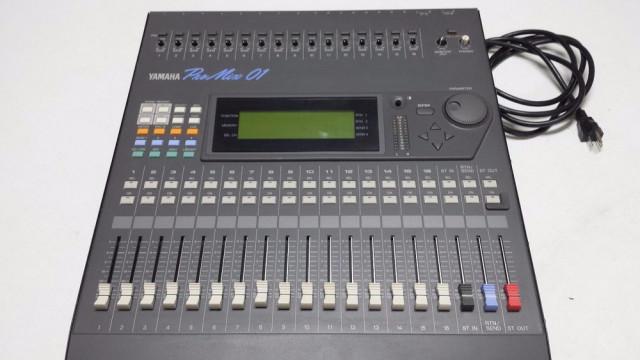 Mezcladora Yamaha Promix 01