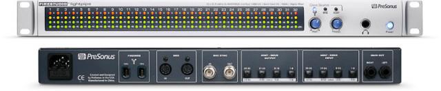 Interface / Presonus lightpipe / Tarjeta de sonido /