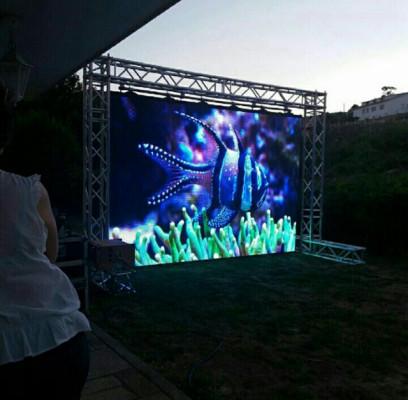 PANTALLA LED P10 outdoor