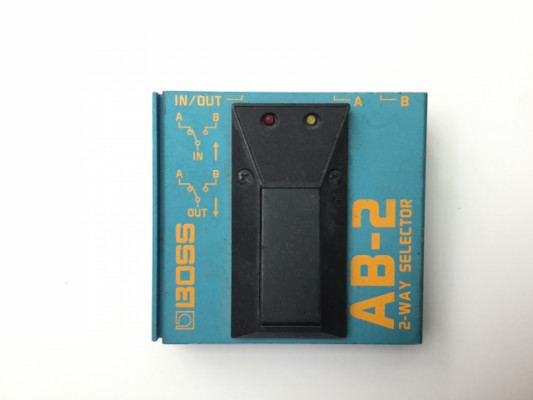 boss AB2 pedal switch