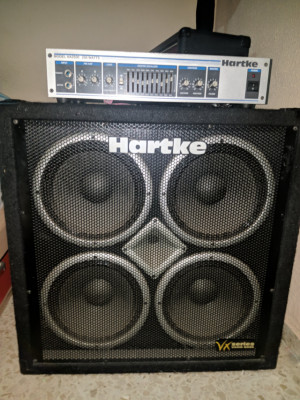 Hartke HA2500 + Pantalla Hartke VX410