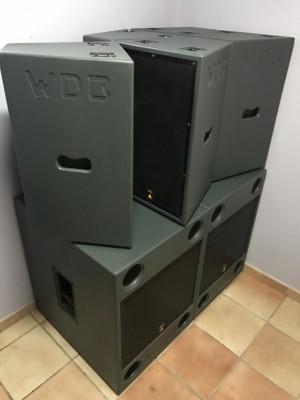 Vendo/Cambio EQUIPO P.A W&DB AUDIO 7000W