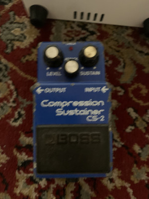 Pedal guitarra Boss CS-2