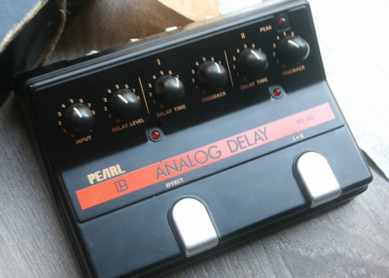 Vintage Analag Delay - PEARL - Made in Japan  (Incorpora famoso Chip MN3005