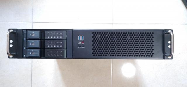 X-Case D-214-MATX 2U Short Rackmount Case