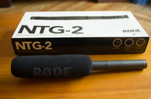 Micrófono broadcast Rode NTG2