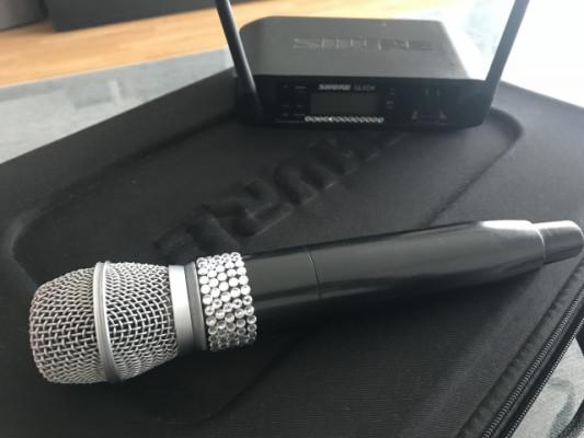 Micrófono Shure 87 Beta inalámbrico
