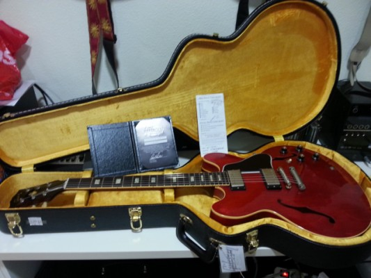 VENDIDA Gibson Memphis 50th Anniversary 1963 ES-335 TD BlockVOS