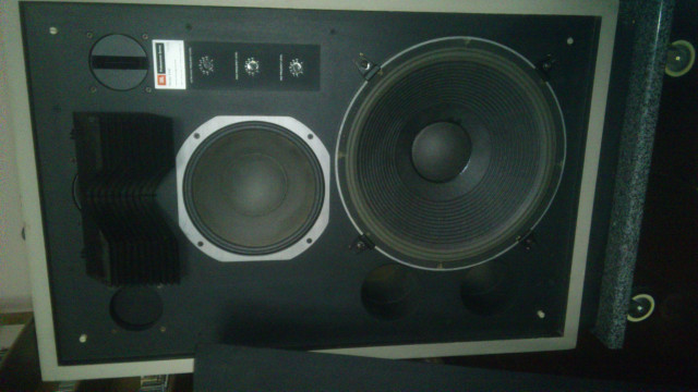 monitores JBL 4340 crossover 5234