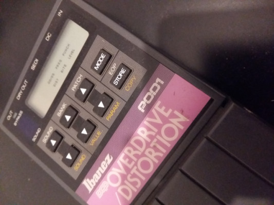 Ibanez POD1 ('88 Tube Screamer programable)
