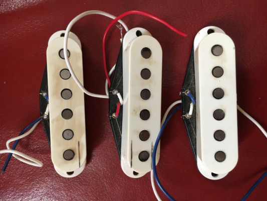 Set Pastillas Fender Strarocaster USA