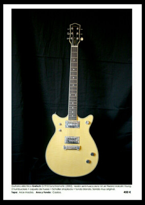 Grestch Syncromatic modelo Malcolm Young (2002)