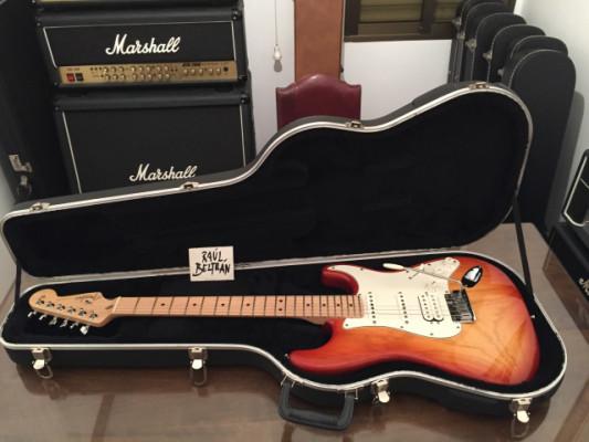 2007 Fender American Standard Stratocaster HSS Sienna Sunburst