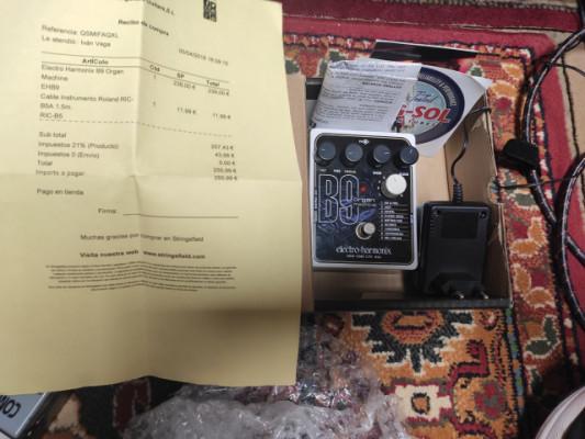 b9 organ machine electro-harmonix